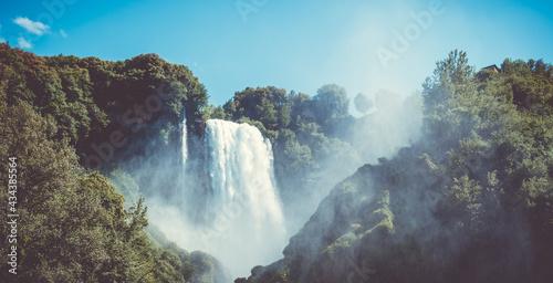 Tela Cascata delle Marmore - Umbrien
