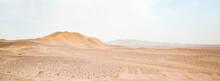 Landscape Of The Sahara Desert
