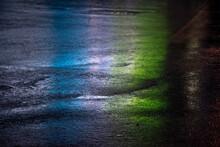 Reflex  D'un Panneau Publicitaire De Nuit