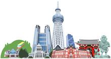 東京観光地集合