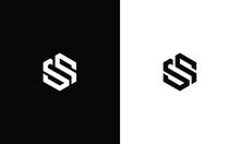 Letter SS Logo, Alphabet SS Logo, Initials SS Logo, SS Letter Logo Vector Template