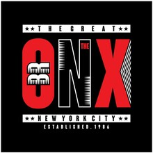 The Bronx New York City Typography Design For T Shirt Print,vector Illustration