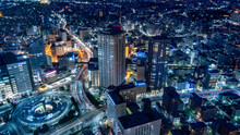 静岡県浜松市の夜景