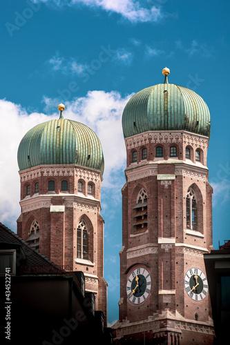 Foto Türme des Liebfrauendoms in München