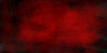 Red Marbled Background Texture Template For Banners, Watercolor Grunge Paper. St. Valentine's Day Design.