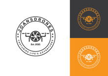 Vintage Logo. This Logo Icon Incorporate With Abstract Shape In The Creative Way.