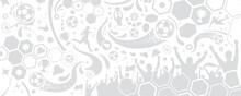 ARRIÈRE-PLAN SILHOUETTES FOOTBALL Gris Neutre Sans Fond