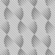 Vector Geometric Seamless Pattern. Repeating Monochrome Geometric Pattern With Circles.