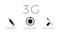 3G - Regel - Geimpft, Genesen, Getestet