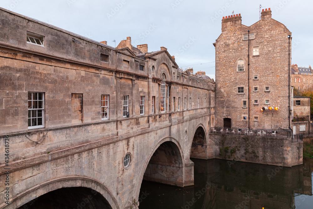 Bath, Somerset, United Kingdom. Old town