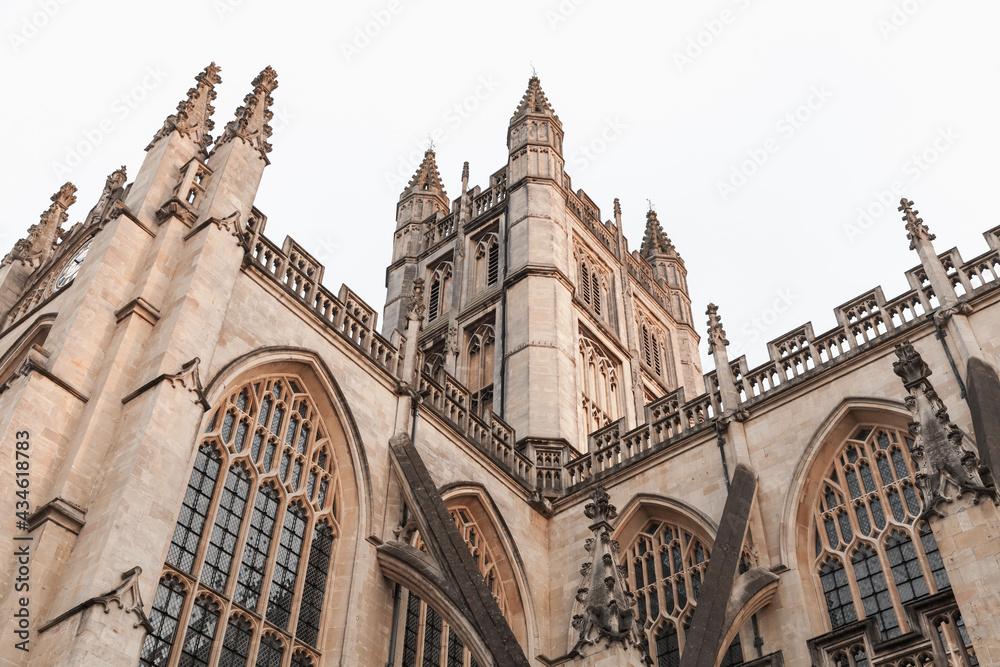 Bath Abbey. Somerset, United Kingdom