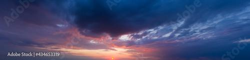 Foto panorama sky