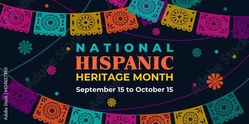 Fotografie, Obraz Hispanic heritage month