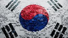 South Korean Flag Wallpaper