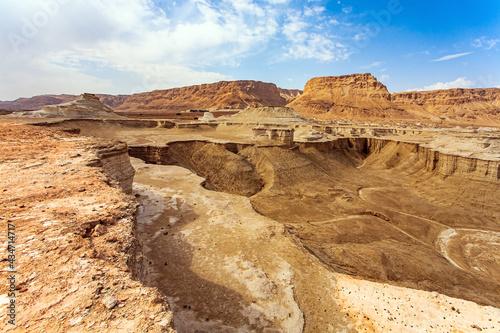 Fotografie, Obraz Picturesque hills, cliffs and gorges