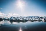 Fototapeta Łazienka - Vatnajökull, Islandia