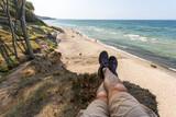 Fototapeta Fototapety z morzem do Twojej sypialni -  Space Outdoor Wolność Wysokość Krajobraz Przestrzeń Morze bałtyckie