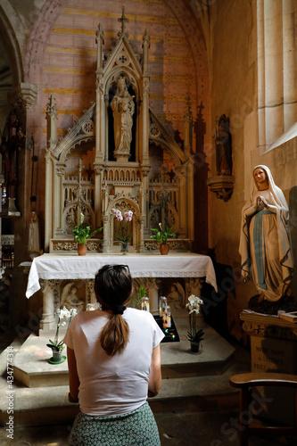 Carta da parati Ste Madeleine (Magdalene) church,  Verneuil-sur-Avre, France