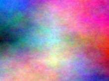 Abstract Fractal Background. Oil Painting On Canvas. Brushstrokes Of Paint. Modern Art. Multi Coloured Bright Texture. Digital Paint Backgrounds. Speed Blurred Multi Colour Blurred Background.