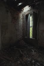 Opuszczone Miejsce, Ruiny Zamku