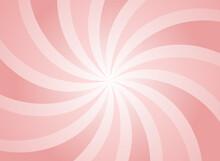 Sunlight Spiral Abstract Background. Pink Burst Background. Vector Illustration