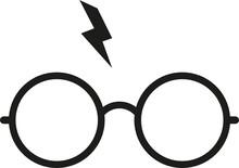 Harry Potter Glasses Cut File, SVG , Cricut, Silhouette