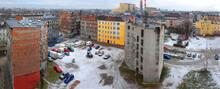 Stare I Zniszczone Kamienice Mieszkalne W Centrum Miasta Do Remontu.