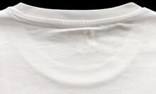 Back Neck Drop Of  T-Shirt. A Closer Look.
