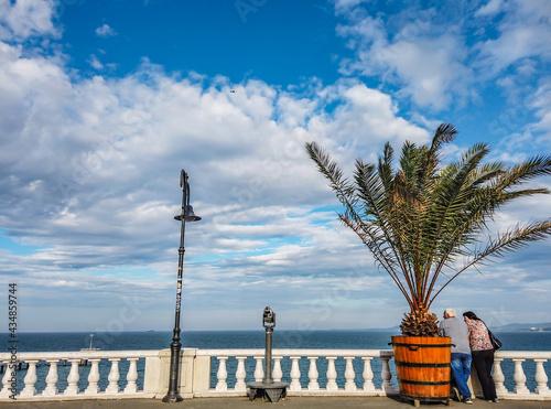 Canvas Print adventure, beach, beautiful, black sea, black sea bulgaria, blue, bulgaria beach