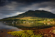 Morning Mood At Loch Goil In The Scottish Highlands