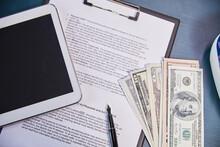 Finance On The Desk