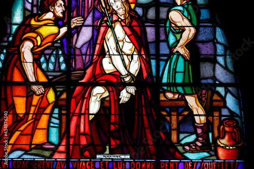 Fotografiet Saint Etienne ( Saint Stephen ) church