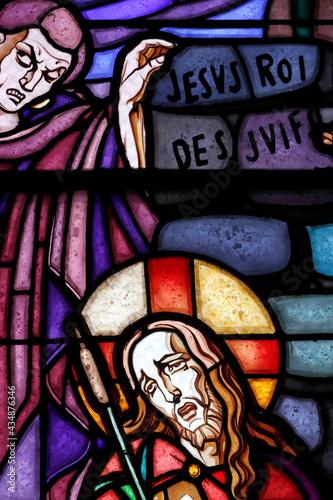 Canvastavla Saint Etienne ( Saint Stephen ) church