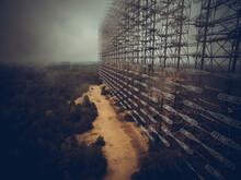Soviet Horizont Radar Station Duga In Chernobyl Exclusion Zone, Ukraine