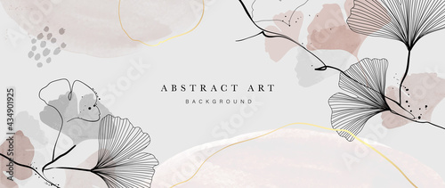 Photo Abstract watercolor art background vector