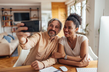 People Using Phone Camera, Taking Photos, Smiling Face.
