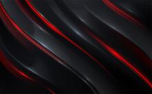 Black_red_wave_background