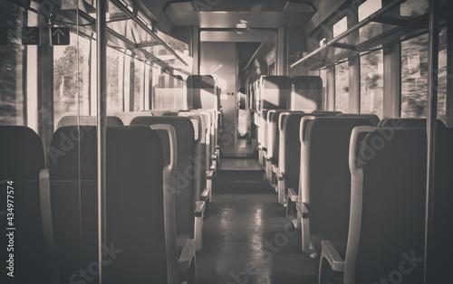 Fotografie, Obraz train in the subway station