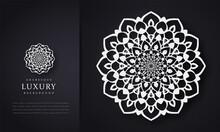 Luxury Mandala Background With Floral Ornament Pattern, Mandala Design, Vector Mandala Decoration Invitation, Cards, Wedding, Logos, Cover, Brochure, Flyer, Banner, Isolated