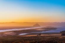 Sunrise, Sunset Over Beach, Ocean, Bay, Morro Bay