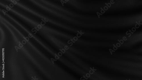 Fényképezés 高級感ある黒の布の背景素材。ラグジュアリなデザインに合います。