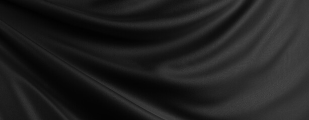 高級感あるシルクの布素材。先進的なクールなデザインに