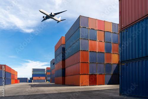 Fotografering Logistic Concept