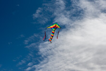 Colorful Kites Flying Over The Sky
