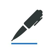 Pen Icon Vector Graphic Illustration