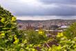 Blick über Stuttgart vom Eugensplatz