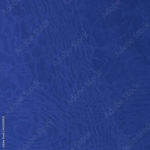 Cuadros en Lienzo Royal blue lycra fabric texture