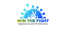 Vaccine Injection Vaccination Boost Your Immunity And Win The Fight Against Corona Virus Covid 19 Infection Pandemic Logo Symbol Icons