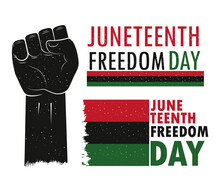 Juneteenth Freedom Icons