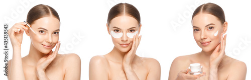 Fotografiet Collection of woman beauty routine